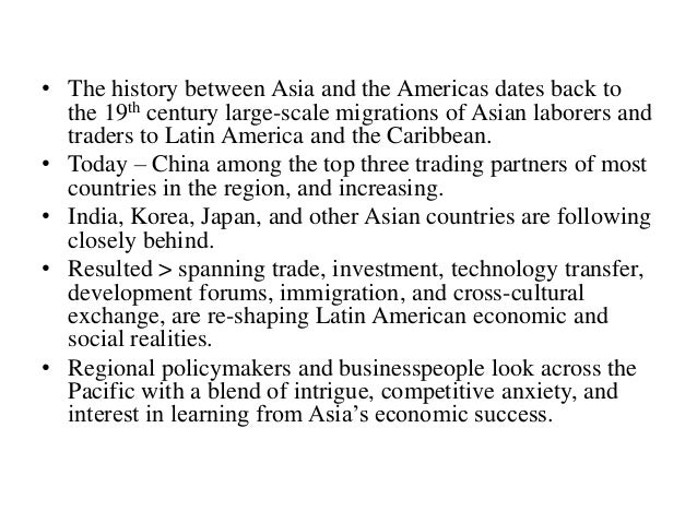 asian latin american history notes History writing a paper on how europe came to be or what united the states we explain the revolutions, wars, and social movements that shaped american and european history.
