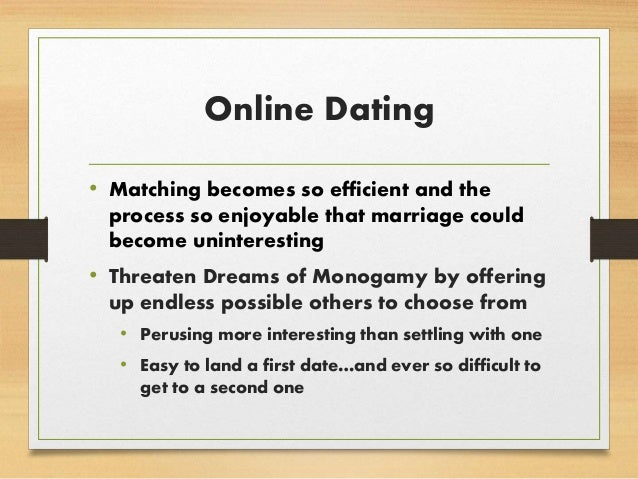 Online dating culture