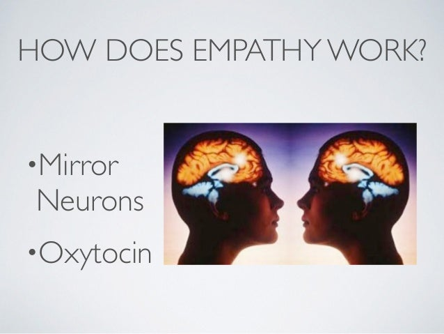 WHY EMPATHY? Organizations that incorporate into their thinking, planning, and doing the empathic connection that generate...