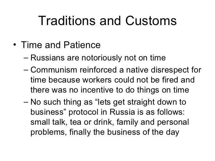 culture of russia elements traditions and customs