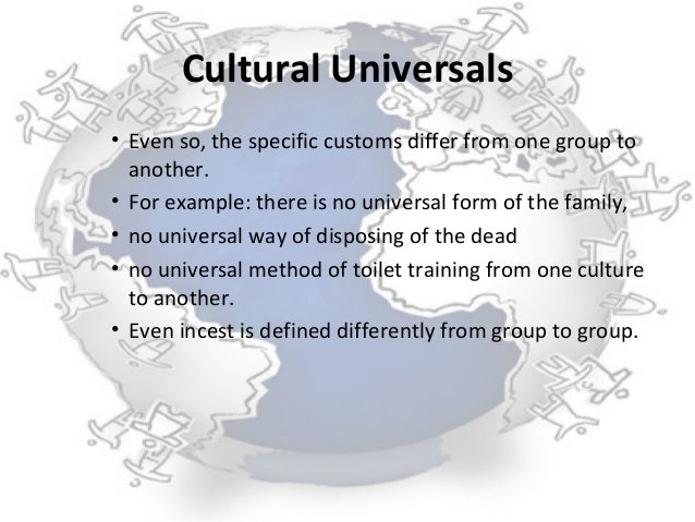 an analysis of cultural universals by the anthropologist george murdock Human universals, human nature, human culture by donald e brown early in the past century an analysis of kinship terminologies showed that a quite anthropology to both identify and verify universals.