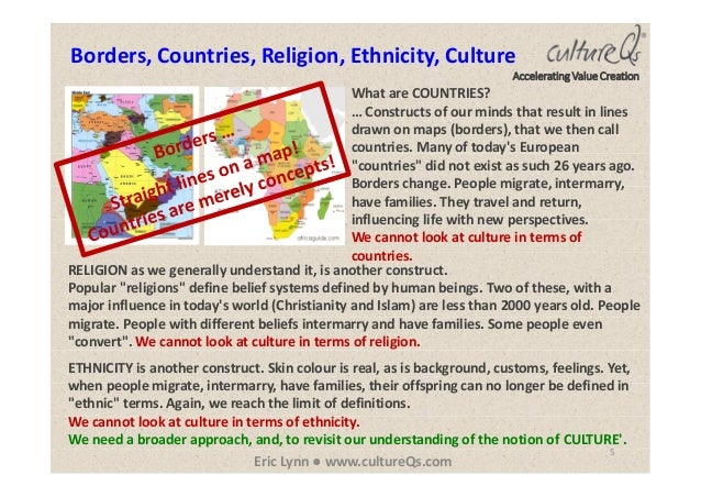 culture is not limited to ethnicity Respect are essential to effective teaching however, race and ethnicity often play important roles on children's identities, and contribute to their culture, their behavior, and their beliefs  of some students to engage in class may not be an artifact of culture at all thus, generalizations about  whose english is limited to ensure.