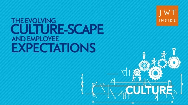 CULTURE-THE EVOLVING  SCAPE AND EMPLOYEE  EXPECTATIONS  CULTURE