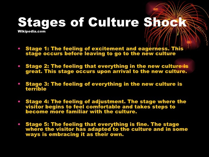 the five stages of culture shock in the movie not without my daughter Then my daughter suggested a breed that i'd never heard of: via the five stages of revising your novel — kobo writing life culture shock by jane boch.