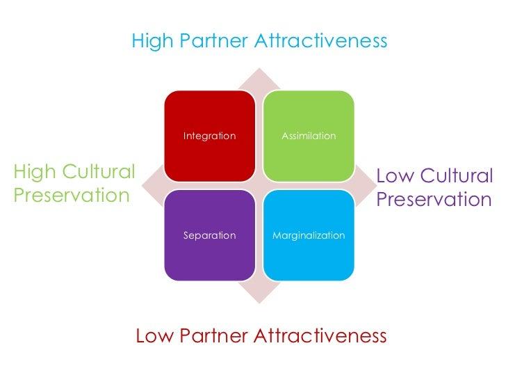High Partner Attractiveness                    Integration    AssimilationHigh Cultural                                   ...