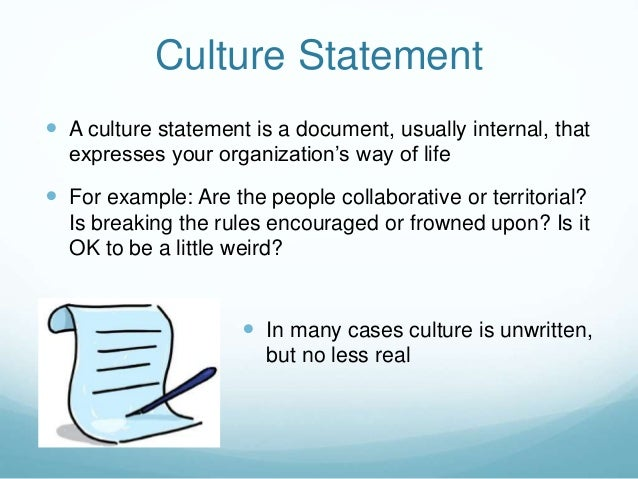 Cultivate Conversations on Culture