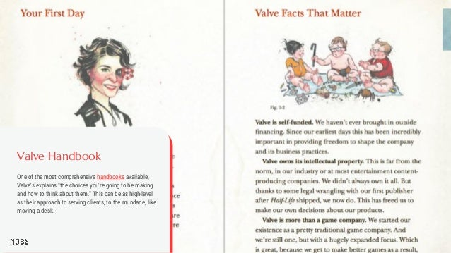 """Valve Handbook One of the most comprehensive handbooks available, Valve's explains """"the choices you're going to be making ..."""