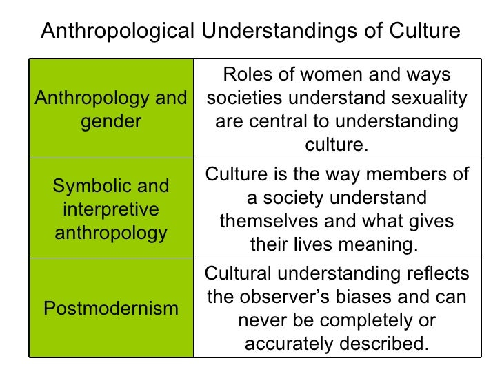 Culture Theory Review Of Theories