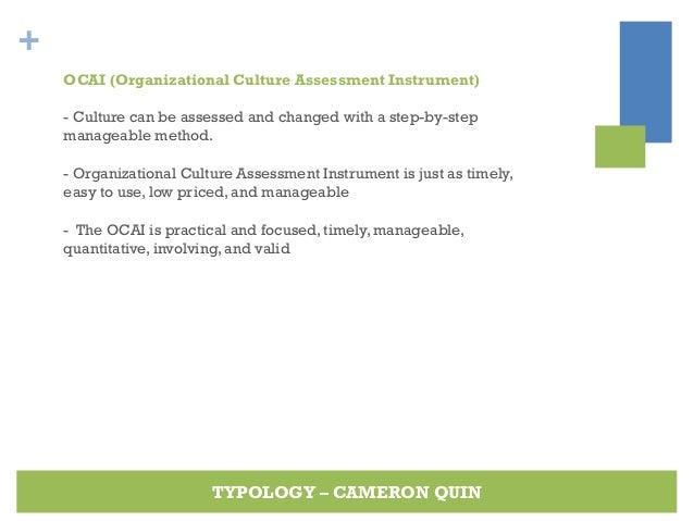 organizational culture assessment instrument template - culture typology organizational behaviour