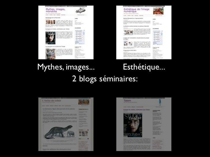 Blogsséminaires  Blogs sources
