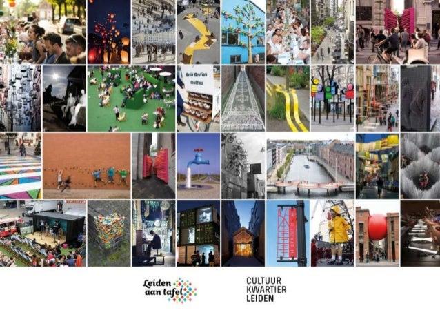 CULTUURKWARTIER DOELEN •Een nog mooiere stad om in te wonen en te werken •Meer cultuurparticipatie •Meer ontmoeting en soc...