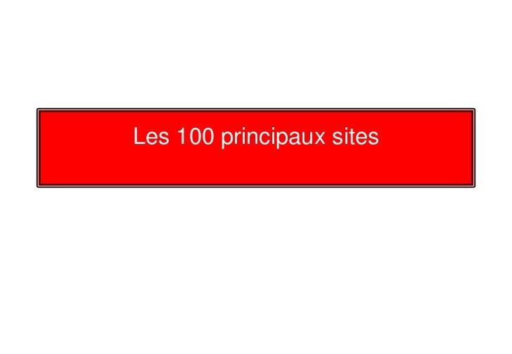 Cultweb 100 sites Slide 2