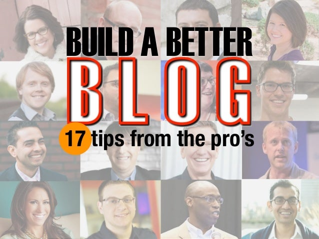 BUILD A BETTER  17 tips from the pro's