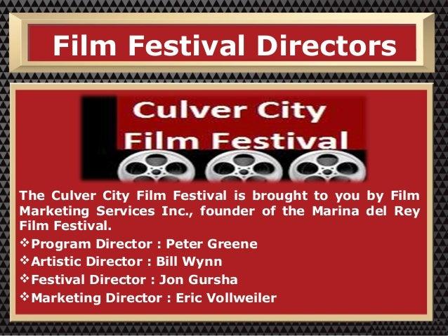 Culver City Film Festival - Film Marketing Services Slide 3