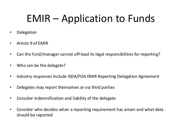 Cummings Law And Lloyd Law Funds And Emir Compliance 170614