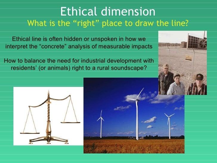 Line Drawing Ethics : The inevitable evolution toward below ambient noise regs