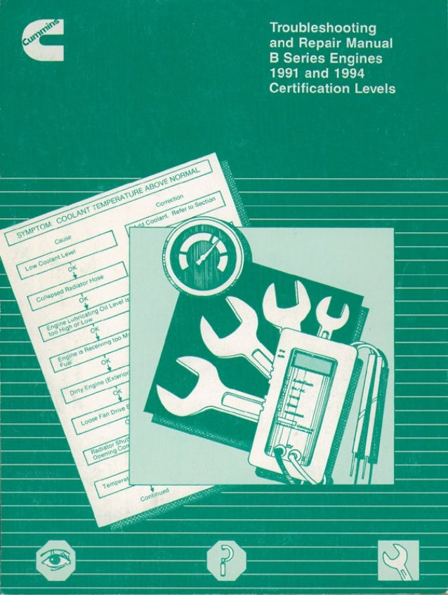 Cummins 4 Bt Service Manual