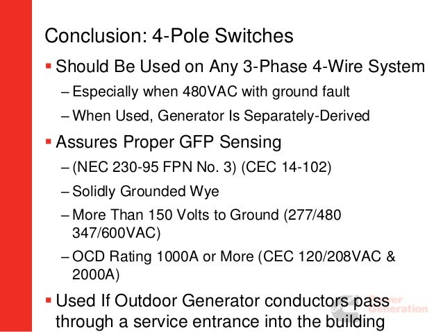 Ats grounding issues installation considerations greentooth