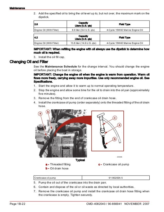 Cummins Oil And Lube Oil Routine Service Manual