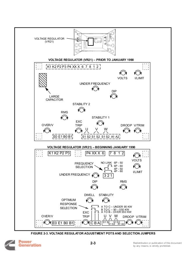 Cummins onan dfla detector control generator set service