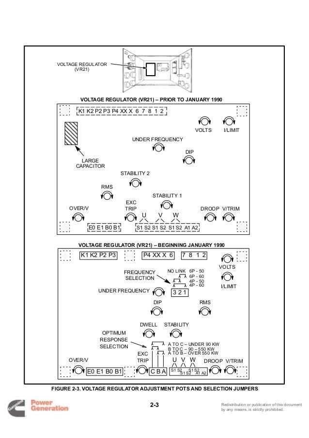Cummins onan dflc detector control generator set service