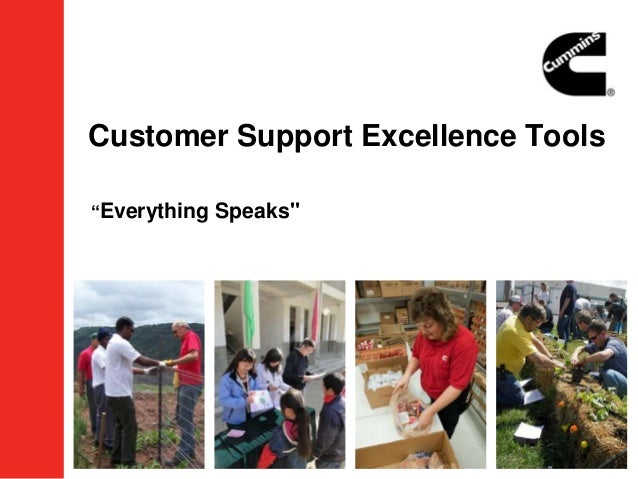 """Customer Support Excellence Tools""""Everything Speaks"""""""