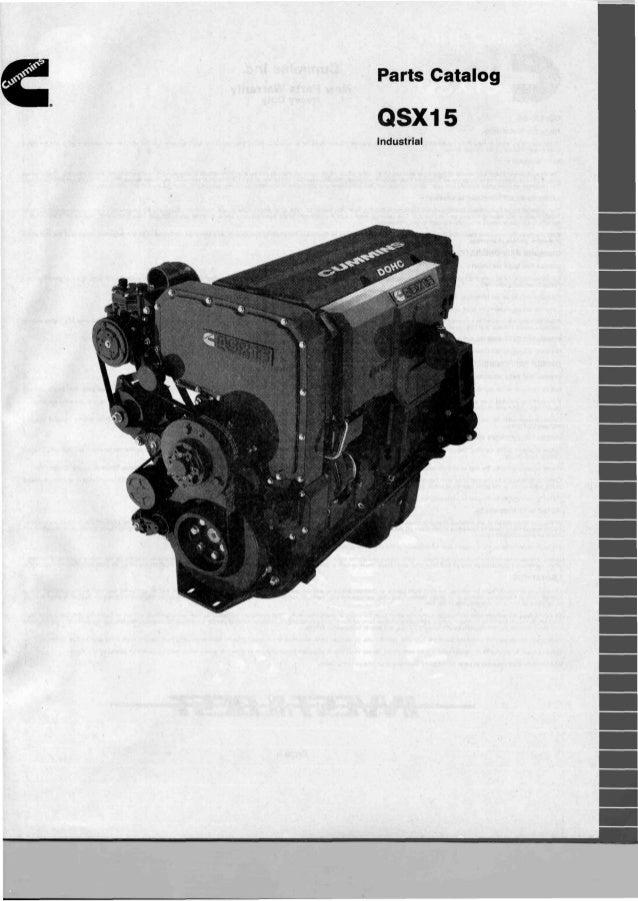 cummins qsx 15 parts catalog rh slideshare net Cummins QSX15 Air Compressor Intake Hose cummins qsx15-g8 parts manual