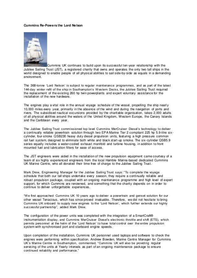 Cummins Engines Andrew Bowden Dubai