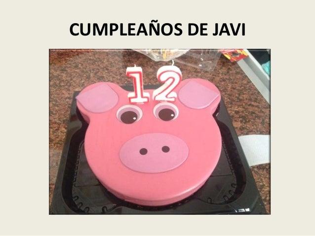 CUMPLEAÑOS DE JAVI