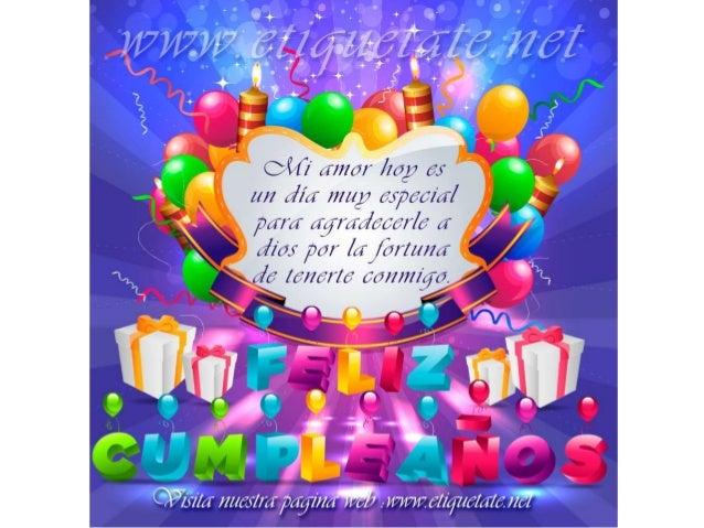 cumpleaños de mi esposo querido