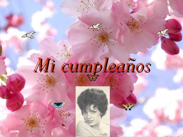 Mi cumpleañosMi cumpleaños