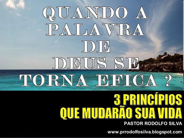 PASTOR RODOLFO SILVA www.prrodolfosilva.blogspot.com
