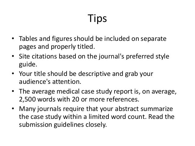 journal of medical case reports instructions for authors