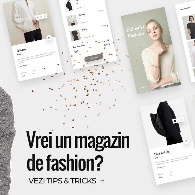 Cum sa vinzi haine online in Romania Slide 2