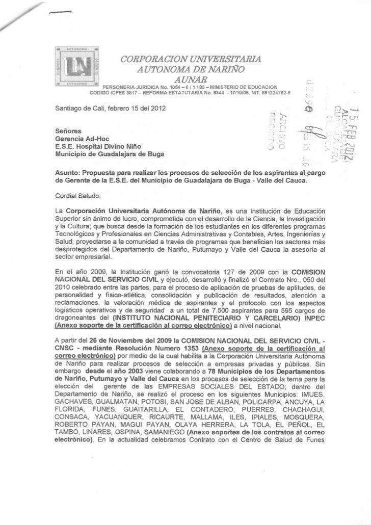 2Corporación Universitaria  Autónoma de Nariño