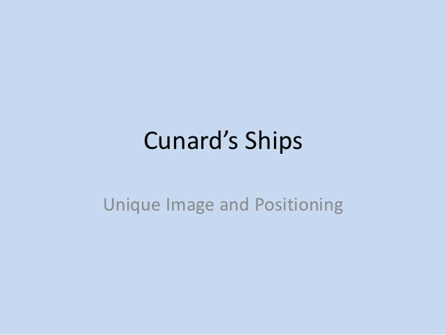 cunard line ltd managing integrated marketing communications Free essay: case study: cunard line ltd, managing integrated marketing  communications 1 for 1992, why did they select the marketing.