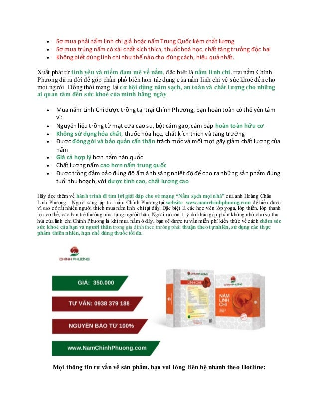 cung cấp nấm linh chi việt nam hcm Slide 2
