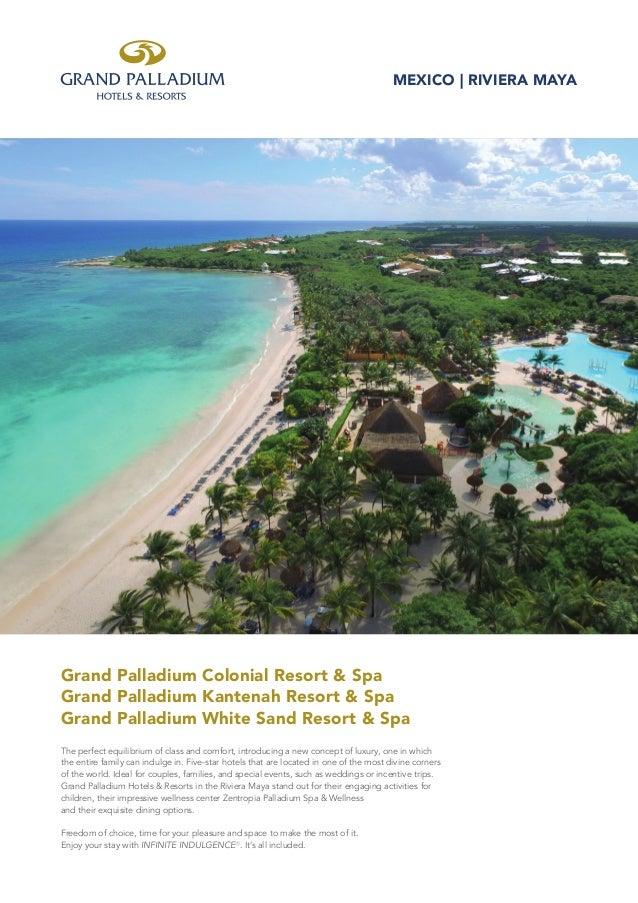 Grand Palladium Riviera Maya Resort Spa Factsheet En