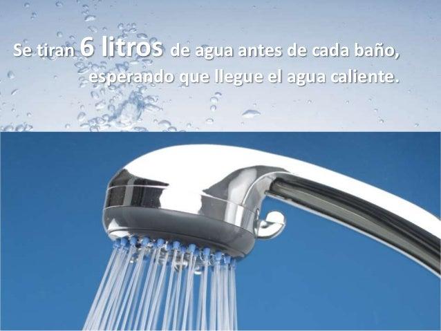 Cu nta agua se desperdicia en un d a for Llave tirando agua