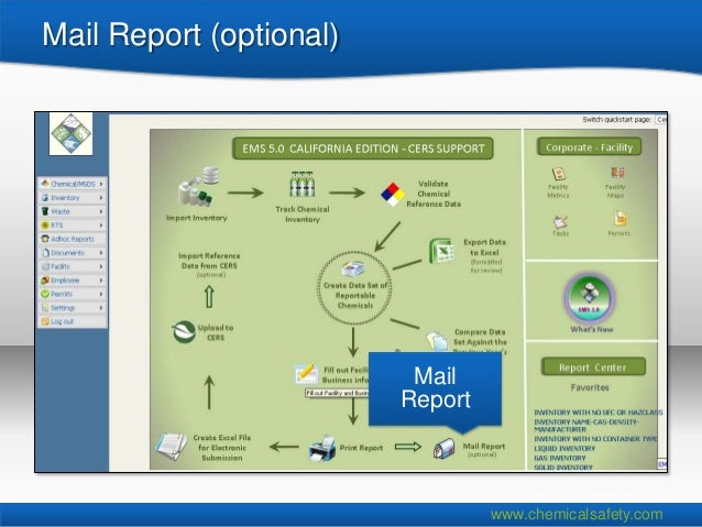 Mail Report (optional)                          Mail                         Report                                  www.c...
