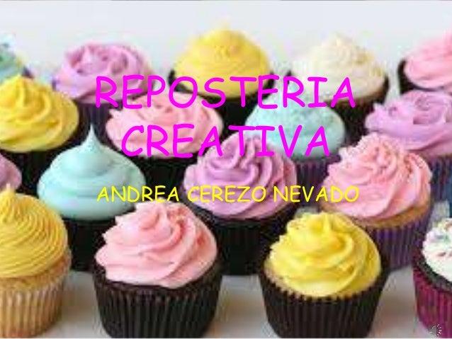 REPOSTERIA CREATIVA ANDREA CEREZO NEVADO