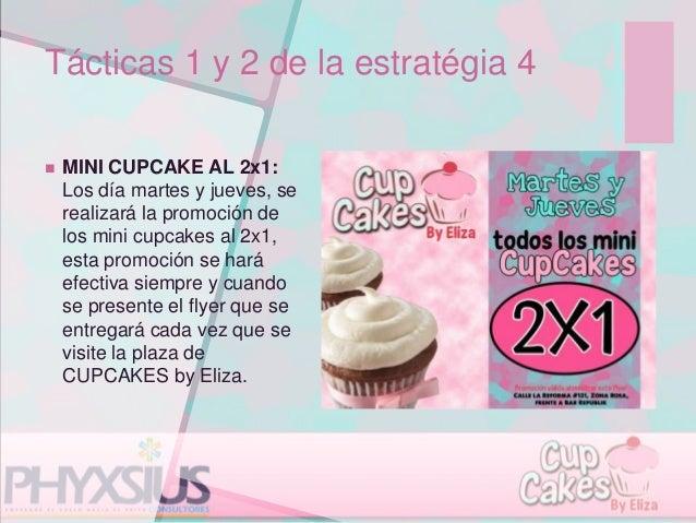 Plan de Marketing para Cupcakes by Eliza, Universidad Dr. José Matías…