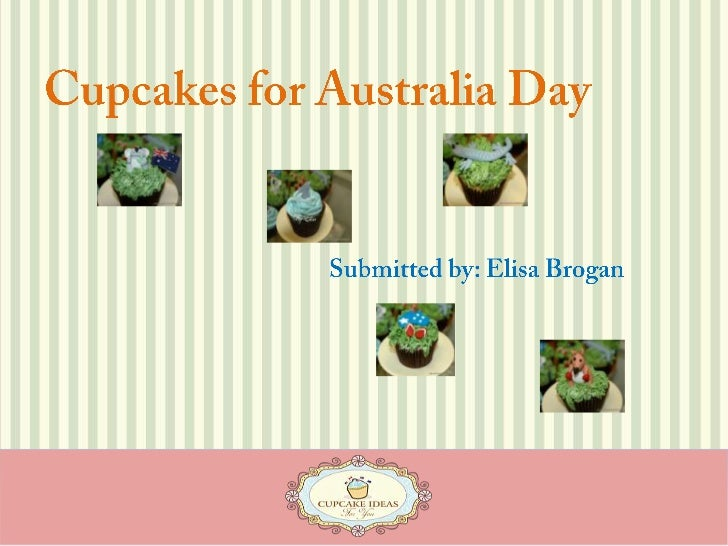 Cupcakes for Australia Day<br />Submitted by: Elisa Brogan<br />