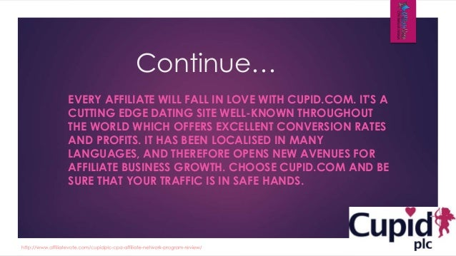 cupid plc - dating affiliate network