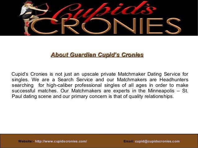 Cupids cronies matchmaker dating service minneapolis mn