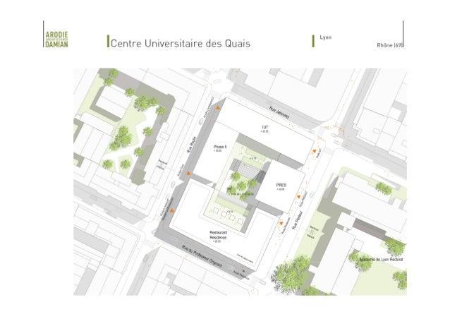 Inauguration des Bâtiments de l'IUT Jean Moulin Lyon 3, le 26 /11/2014