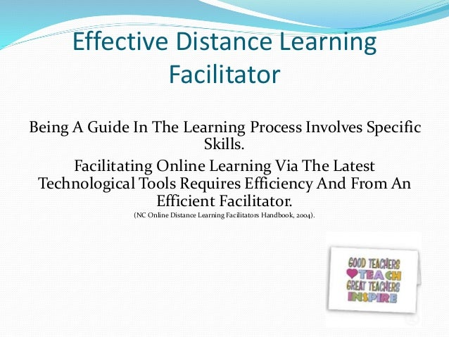 "is distance learning as effective as ""what are the most important pitfalls when designing an online distance learning  course"" a good question coming from a teacher of the online."