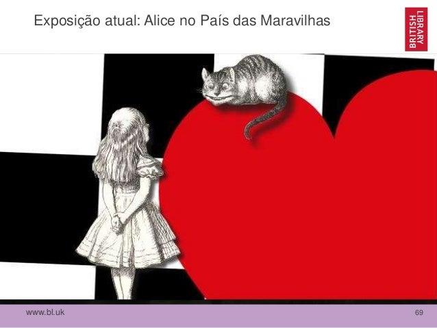 www.bl.uk 69 Exposição atual: Alice no País das Maravilhas