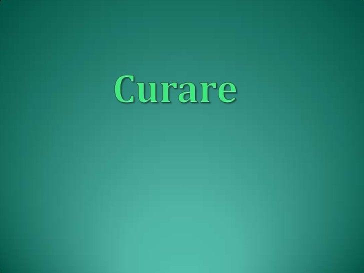 Curare<br />