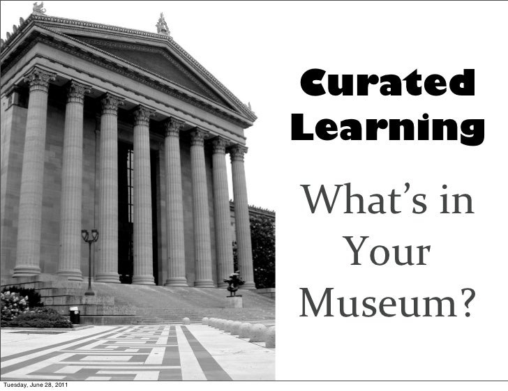 Curated                         Learning                         What's	  in	                            Your	            ...